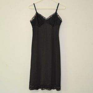 Vanity Fair Vintage Full Slip With Lace Size 34